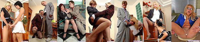 sexy secretaires pics