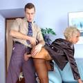 hottie pantyhosed office