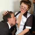 pantyhose sex in office