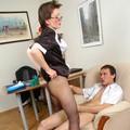 horny secretaries porn